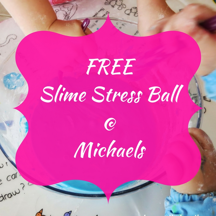 FREE Slime Stress Ball!