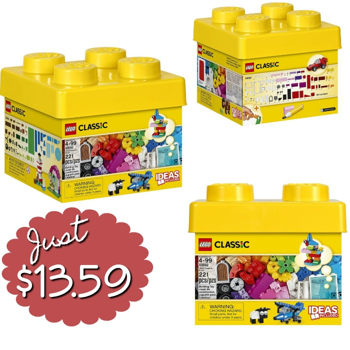 LEGO Classic Creative Bricks Just $13.59!
