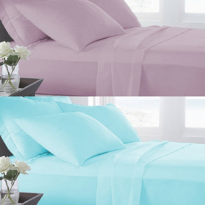 Microfiber Ultra Soft Sheet 3-Piece Set Just $19.99! Down From $100!