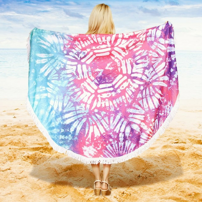 Round Beach Towels Jut $17.99! Down From $50!
