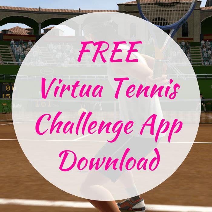 FREE Virtua Tennis Challenge App Download!
