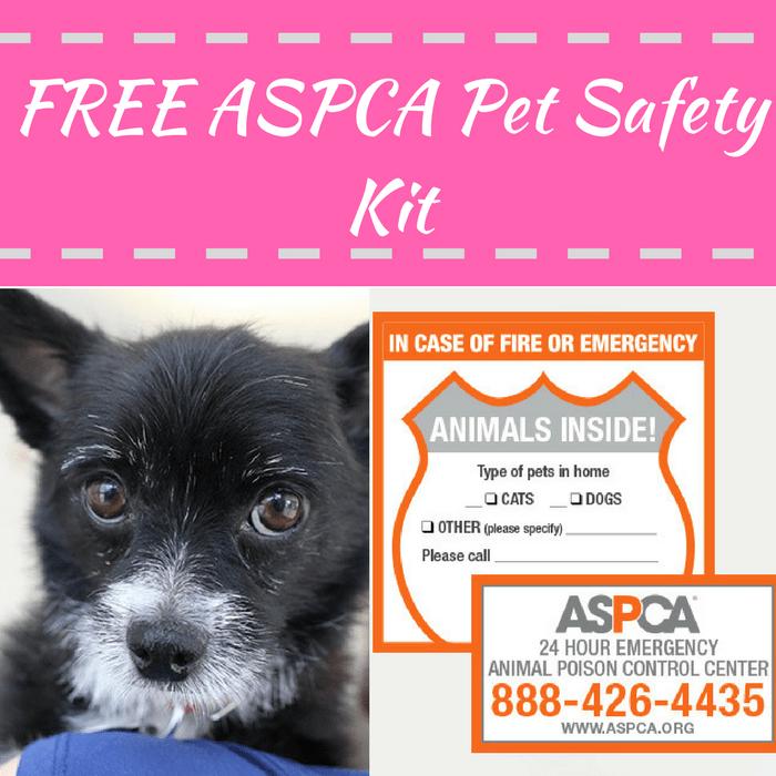 FREE ASPCA Pet Safety Kit!