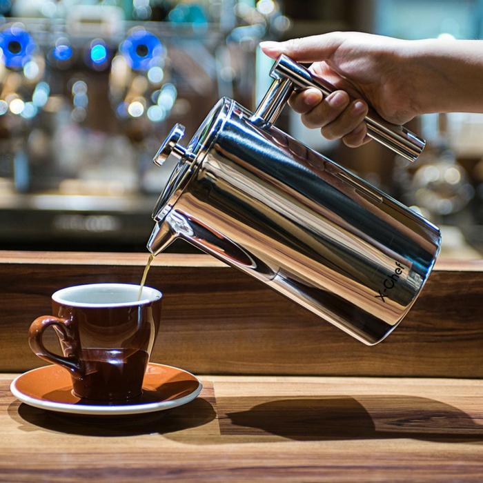 Stainless Steel French Press Just $27.99! Down From $40! PLUS FREE Shipping!