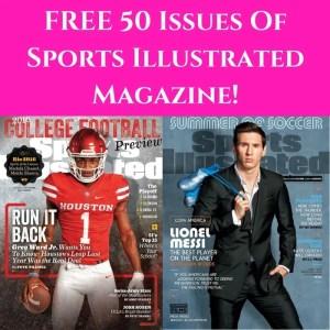 FREE Sports Illustrated Magazine Subscription!