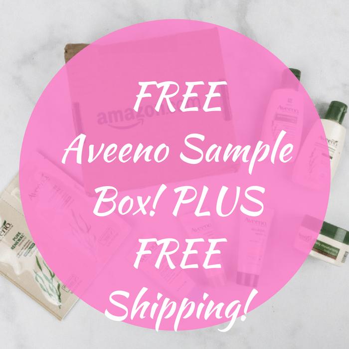 FREE Aveeno Sample Box! PLUS FREE Shipping!