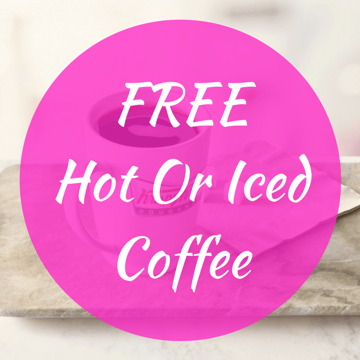 FREE Hot Or Iced Coffee!
