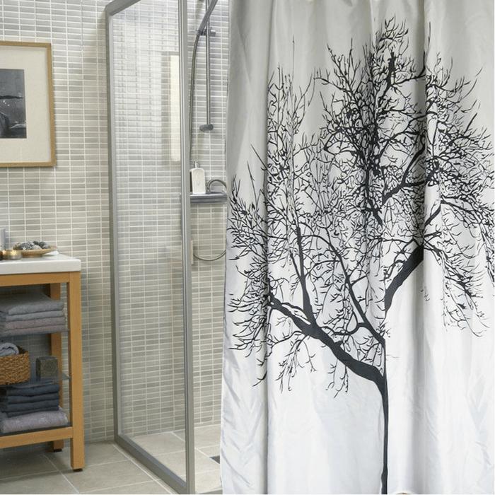 Waterproof Shower Curtain Just $9.95!