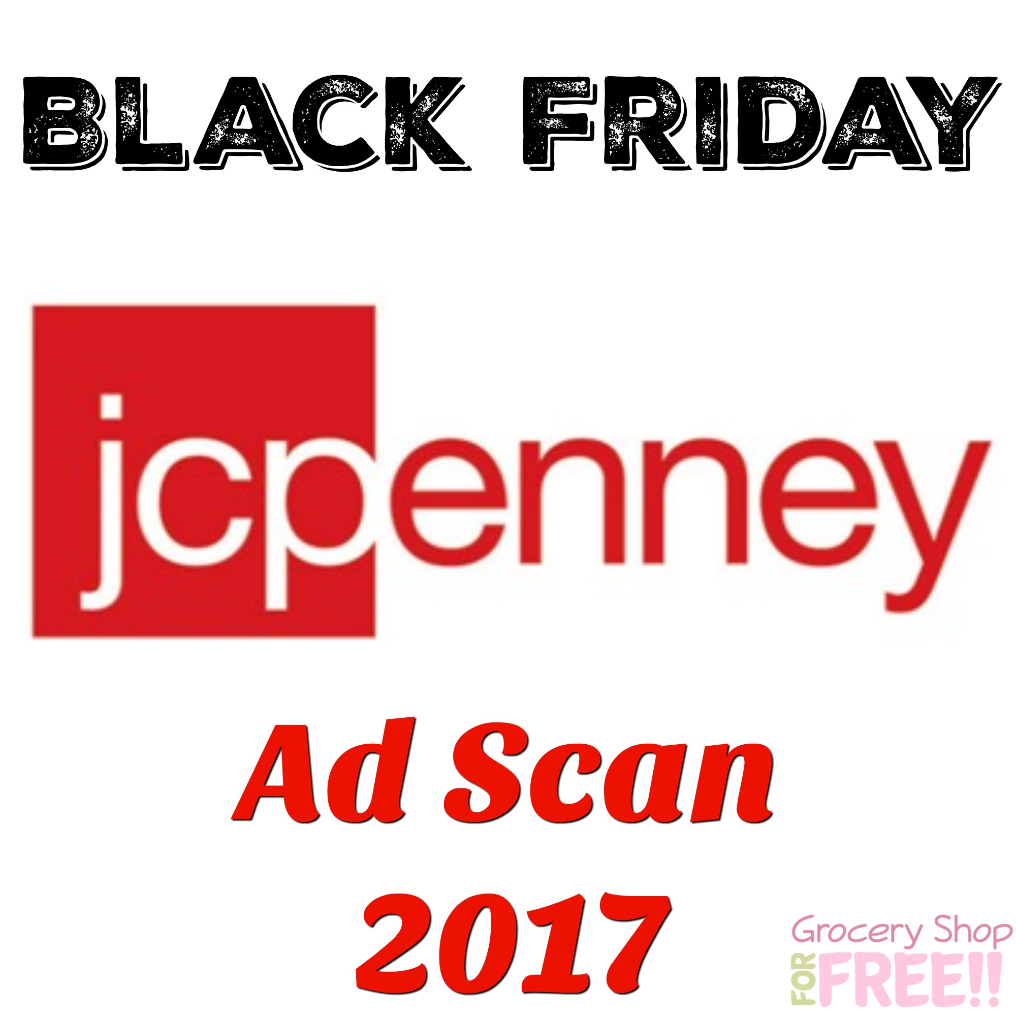 JCPenney Black Friday Ad 2017 Scan!