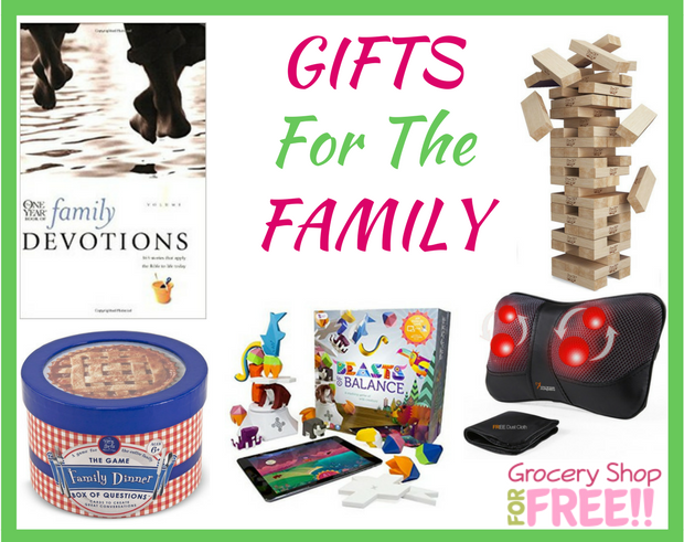 Grocery Shop For FREE Holiday Gift Guide 2017!