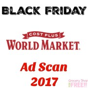 Cost Plus World Market Black Friday 2017 Ad Scan!