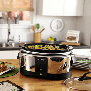Crock-Pot Smart Wifi-Enabled Slow Cooker Just $83.99! Down From $150! PLUS FREE Shipping!