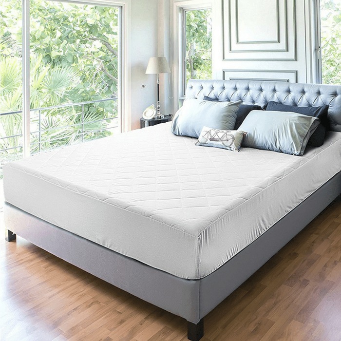 Queen-Sized Quilted Fitted Mattress Pad Just $19.99! Down From $50!
