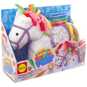 ALEX Toys Craft Color And Cuddle Washable Pony Just $9.62! Down From $18.50!