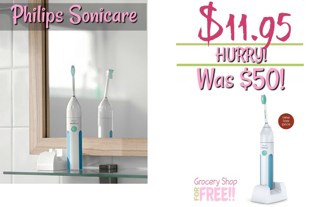 Philips Sonicare Essence Electric Toothbrush Just $11.95! Down From $50!