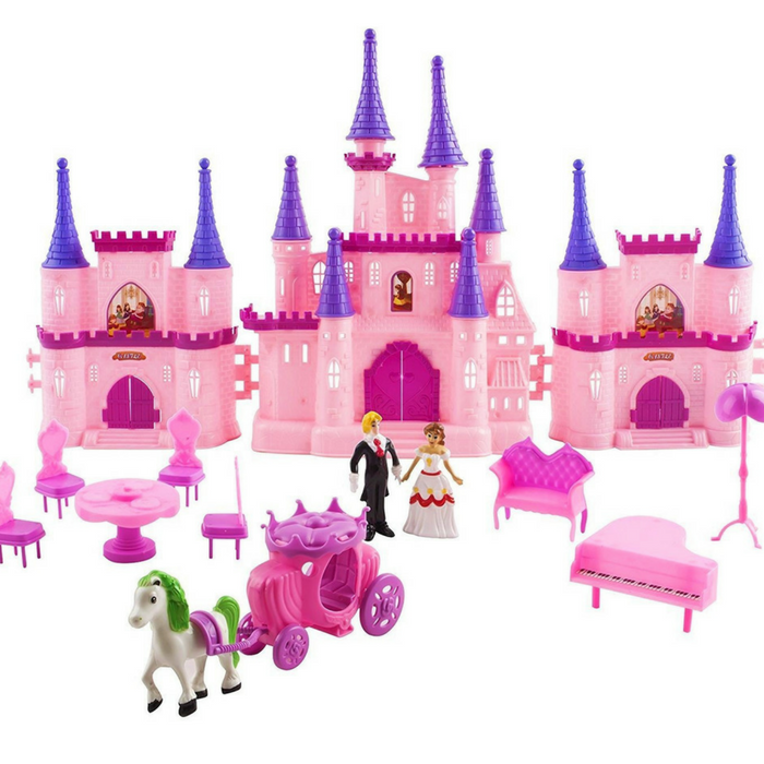 Victorian Castle Dollhouse Just $22.95! Down From $50!