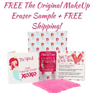 FREE The Original MakeUp Eraser Sample! PLUS FREE Shipping!