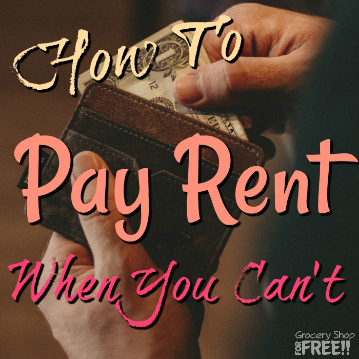 Having trouble paying rent?  Take a breathe & check out these ideas to make some easy money & get your rent paid.  If you need rent assistance, check out these ideas before throwing in the towel.