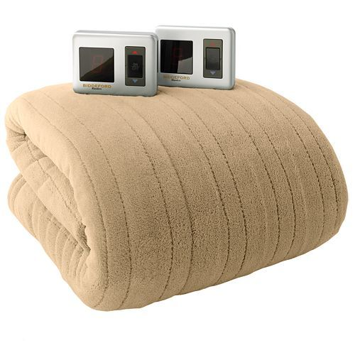 Biddeford Plush Heated Electric Blanket Only $49.49 Down From $160 At Kohl's!