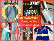 21 Halloween Costume And Decorations!