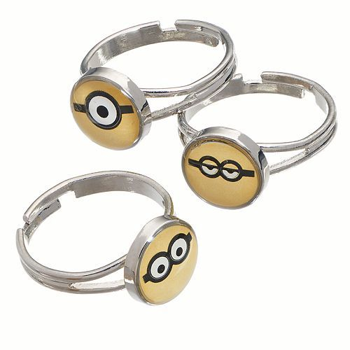 Minions 3-pk. Face Dome Rings Only $2.17 Down From $8.00 At Kohl's!
