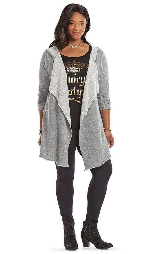 Juicy Couture Flyaway Hoodie (Plus) On Sale For $37.80 Get It For $20.24!