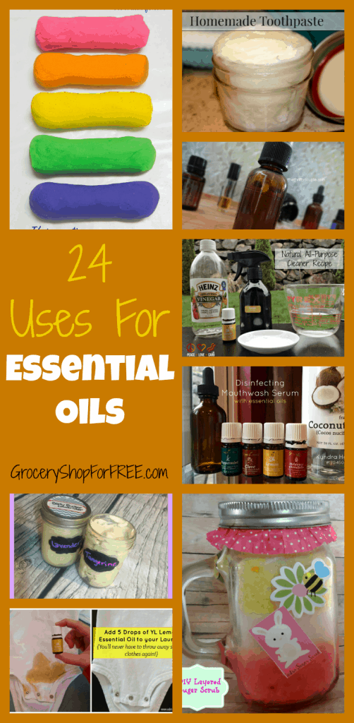 24 Uses For Essential Oils.png pinterest