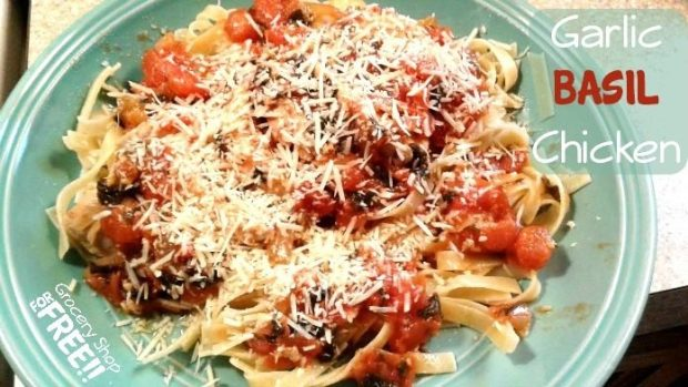 Garlic Basil Chicken Recipe!