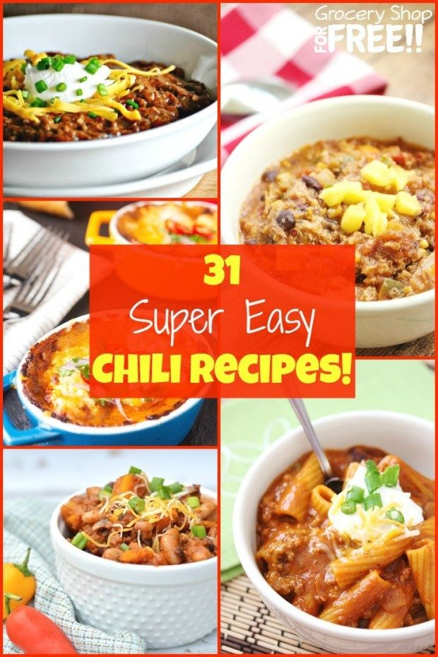 31 Easy Chili Recipes!