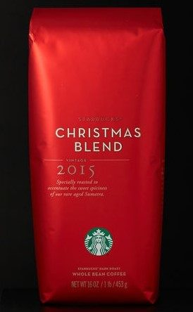 Starbucks Christmas Whole Bean Blend Coffee Just $7.50!