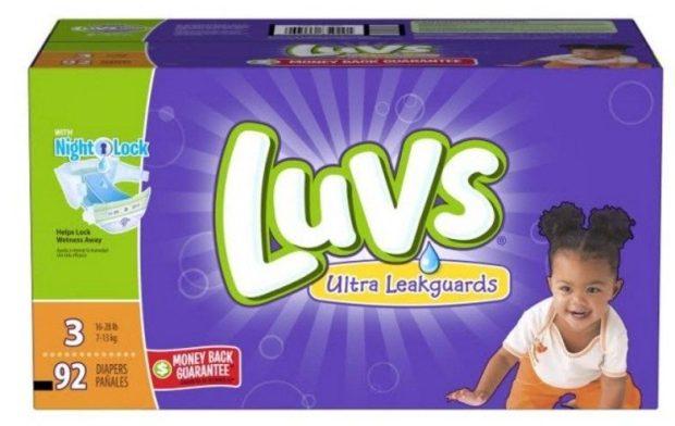 Luvs Diapers $5 Ibotta Rebate!