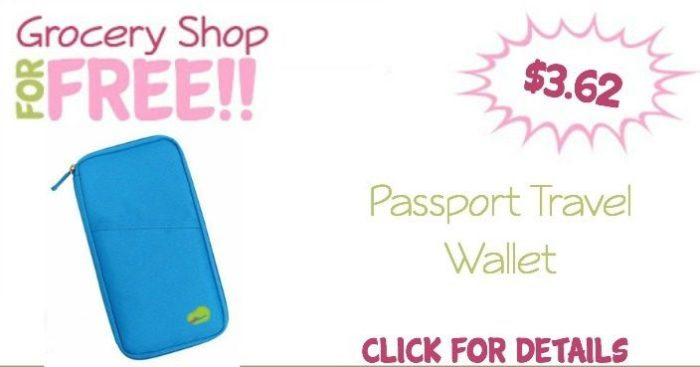 Passport Travel Wallet Just $3.62 + FREE Shipping!