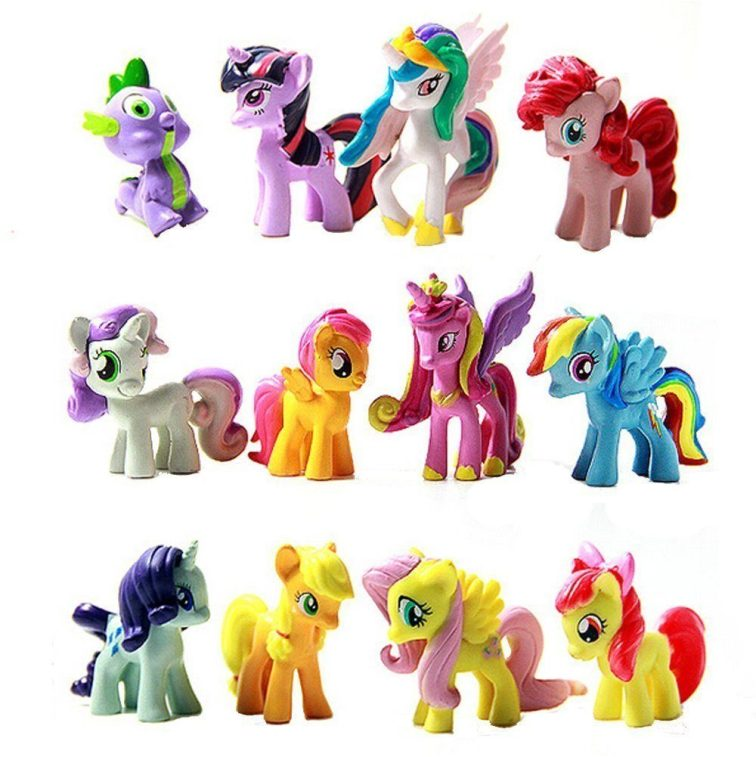 My Little Pony 12 piece Figurines Playset Only $7.68!