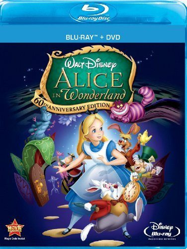 Alice In Wonderland (Two-Disc 60th Anniversary Blu-ray/DVD Combo) Only $14.29 (Reg. $30.55)!
