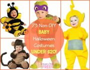 73 Baby Non-DIY Halloween Costumes Under $20!