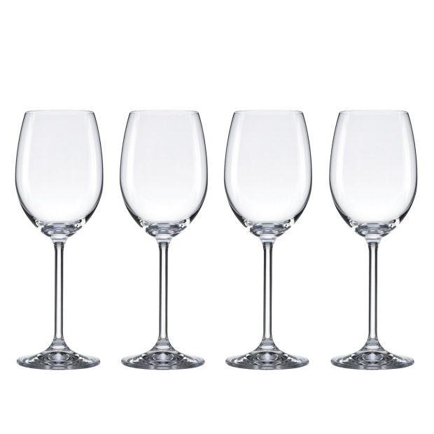 Food & Wine For Gorham The Entertainer Wine Glasses, White, Set of 4 Only $10.06 (Reg. $72)!