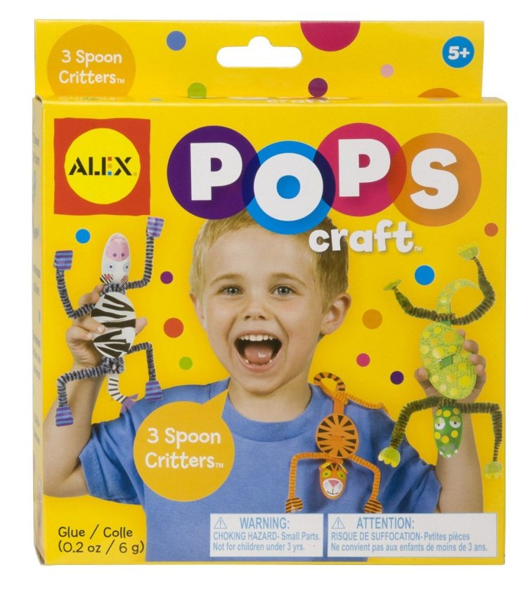 ALEX Toys POPS Craft 3 Spoon Critters Only $4.97 (Reg. $7.99)!