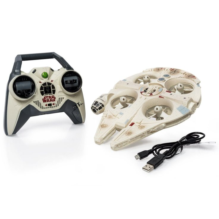 Air Hogs Star Wars Remote Control Ultimate Millennium Falcon Quad Only $88.84 With FREE Shipping!