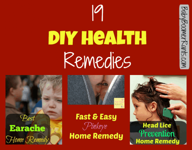 19 DIY Health Remedies!