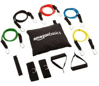 AmazonBasics Resistance Band Set Just $16.95 Down From $24.99!