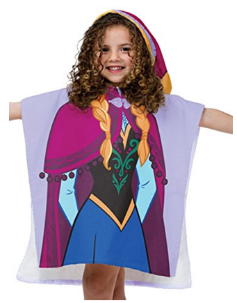 Disney Frozen Anna Hooded Poncho Bath Towel Just $10.57 Down From $20!