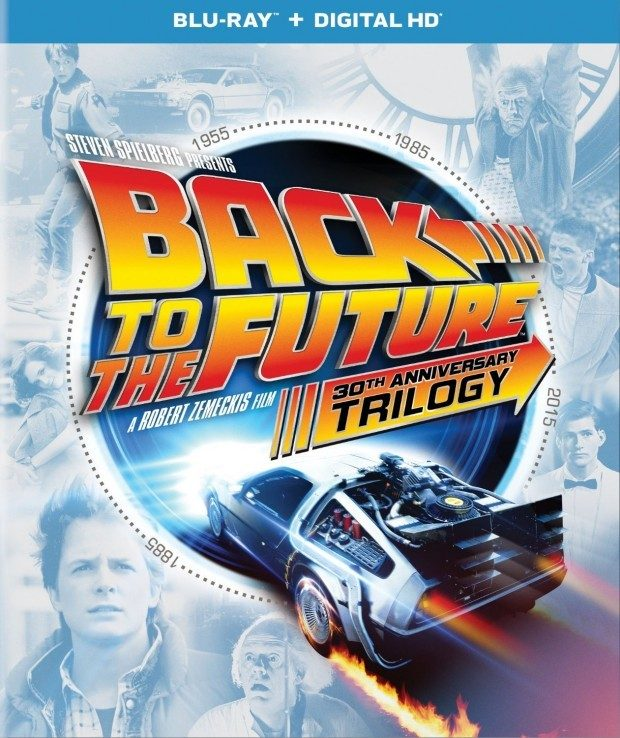 Back to the Future 30th Anniversary Trilogy (Blu-ray + DIGITAL HD) Just $29.64!