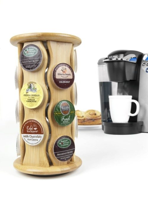 Bamboo Carousel K-Cup Holder