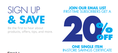 Bed Bath And Beyond 20% Off In-Store Or Online!