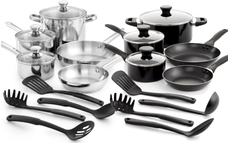 Tools of the Trade 12-Pc. Cookware Set Only $29.99! Down From $119.99! Ships FREE!