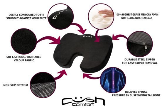 Get Relief For Your Body With Cush Cushion!