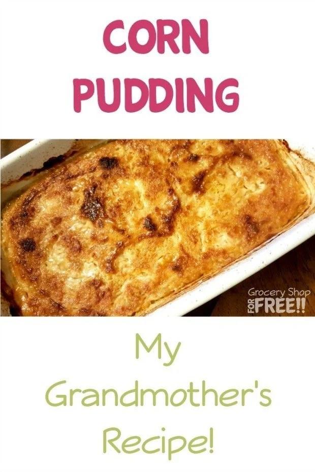how to make corn pudding