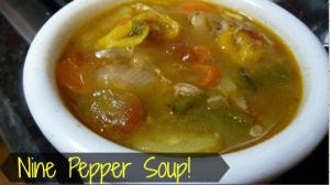 Nine Pepper Soup!