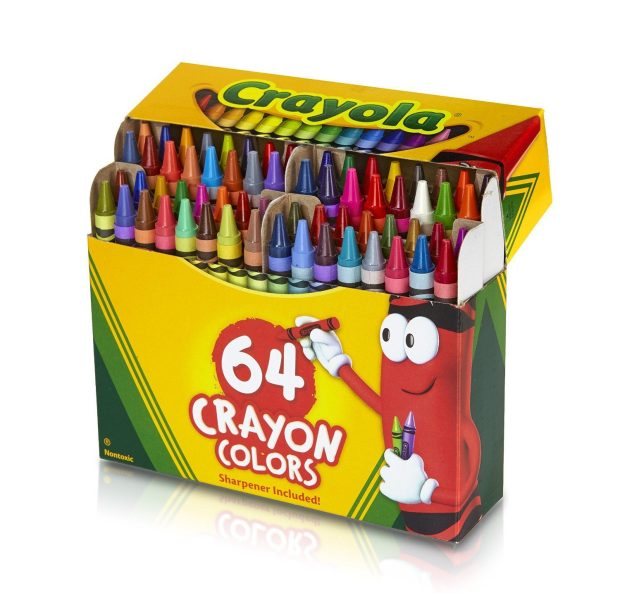 Crayola 64 Ct Crayons Only $2.99!