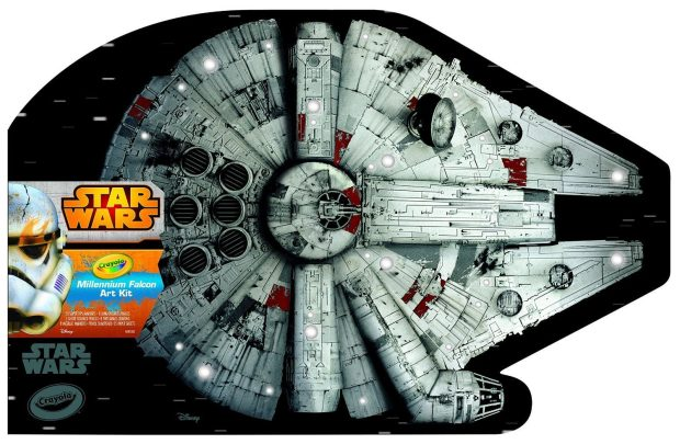 Crayola Millennium Falcon Art Case Toy Was $39 Now Just $24.99!