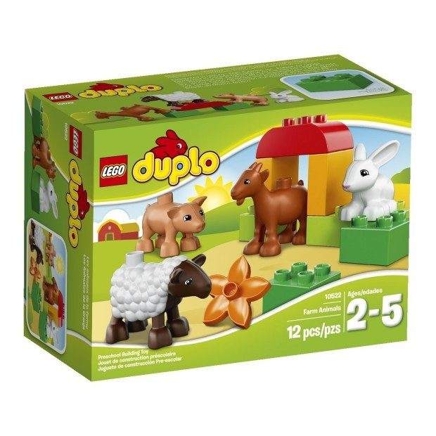 DUPLO LEGO Ville Farm Animals $7.97 + FREE Shipping with Prime!